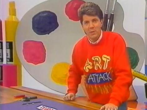 Art attack don 39 t look back in anger a 90s nostalgia blog for Craft shows on tv