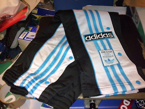 Adidas Popper Joggers Don T Look Back In Anger A 90s